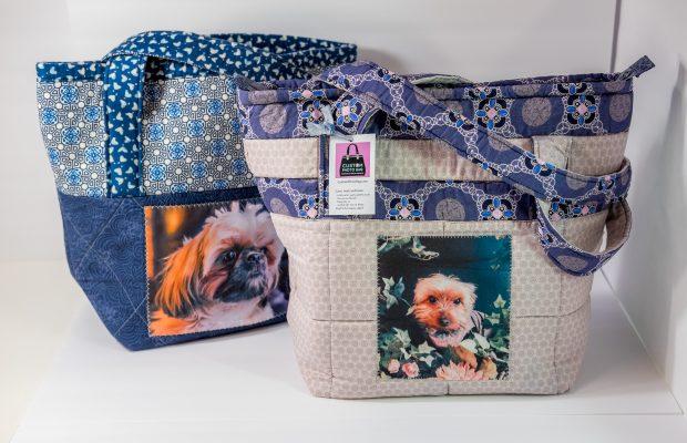 customizable bag, personalized bag, tote, photo tote, photo art, washable bag, handmade bag